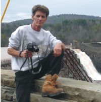 Author and photographer Dave Hanes