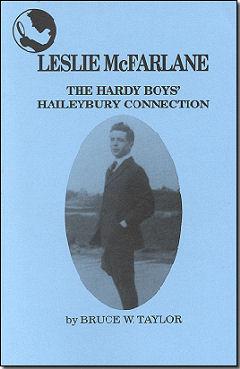 Leslie McFarlane The Hardy Boys Haileybury Connection