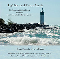 Front Cover- Lighthouses of Eastern Canada