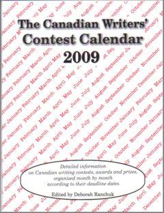 Canadian Writers' Contest Calendar 2009