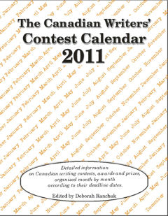 Canadian Writers' Contest Calendar 2011