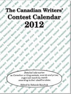Canadian Writers' Contest Calendar 2012
