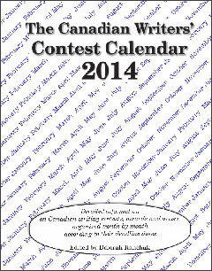Canadian Writers' Contest Calendar 2014