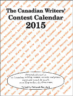 The Canadian Writers' Contest Calendar 2015