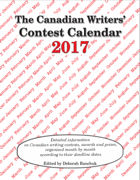 Canadian Writers' Contest Calendar 2017