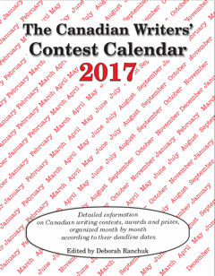 The Canadian Writers' Contest Calendar 2017