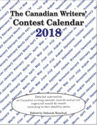 Canadian Writer's Contest Calendar 2018