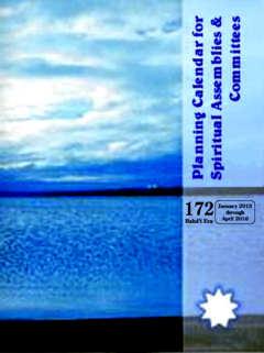 Planning Calendar for Spiritual Assemblies & Committees