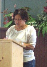 First Prize Winner Melanie Baschiera Dugay of Hearst