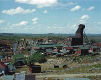 Creighton Mine 1953 photo © by Rolf Staude