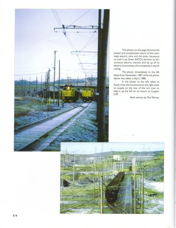 sample of inside page with colour photos-full size is 8.5 x 11