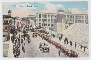 Prince of Wales parade up Silver Street 1919