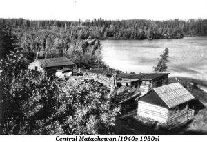 Central Matachewan circa 1940s and 1950s