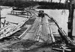 Floating Bridge on the Ashley Road