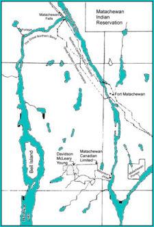 Matachewan area