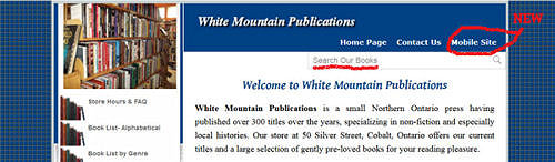 White Mountain main site