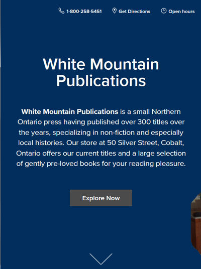 White Mountain mobile site