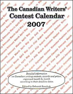Canadian Writers' Contest Calendar 2007 edition