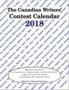 Canadian Writer's Contest Calendar 2018
