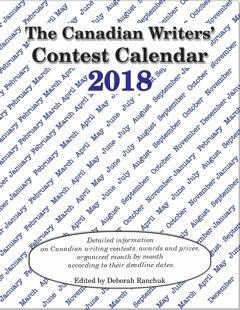 Canadian Writers' Contest Calendar 2018