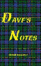 Davf's Notes