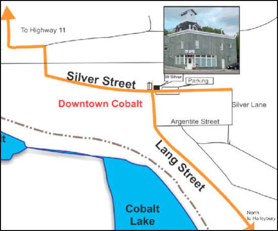location map for 50 Silver Street